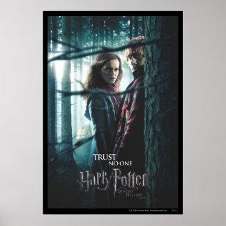 Mortal santifica - Hermione y Ron Póster