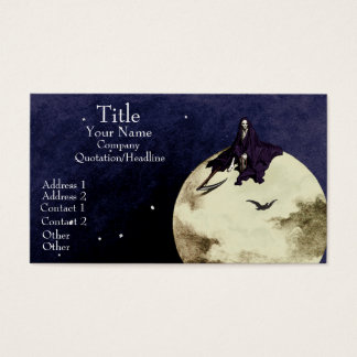 Mortality and the Moon Business Card