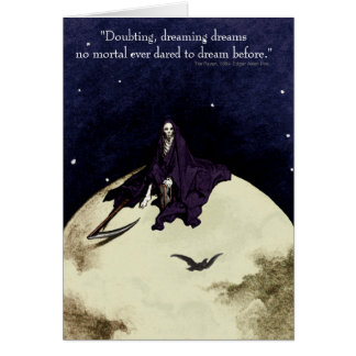 Mortality and the Moon Card