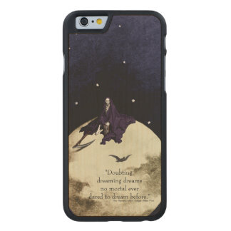 Mortality and the Moon Carved® Maple iPhone 6 Case