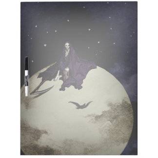 Mortality and the Moon Dry Erase Board