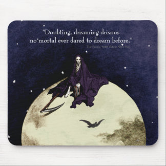 Mortality and the Moon Mouse Pad