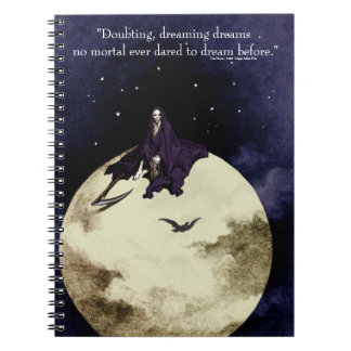 Mortality and the Moon Notebook