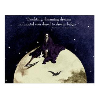 Mortality and the Moon Postcard