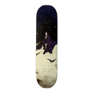 Mortality and the Moon Skateboard Deck