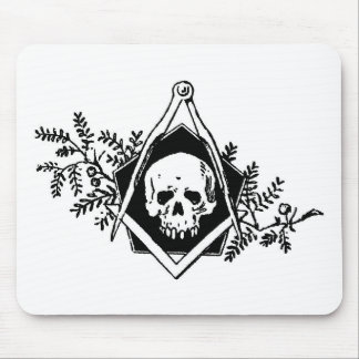 Mortality Square and Compasses Mouse Pads