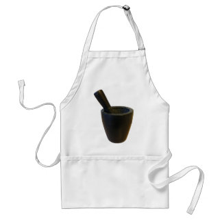 Mortar and Pestle Adult Apron