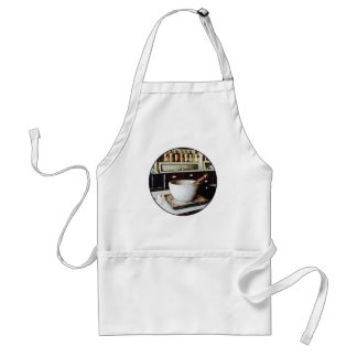 Mortar and Pestle in Apothecary Adult Apron