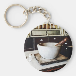 Mortar and Pestle in Apothecary Keychains
