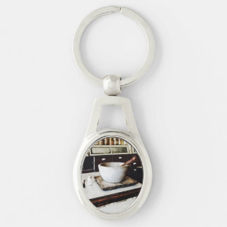 Mortar and Pestle in Apothecary Key Chain