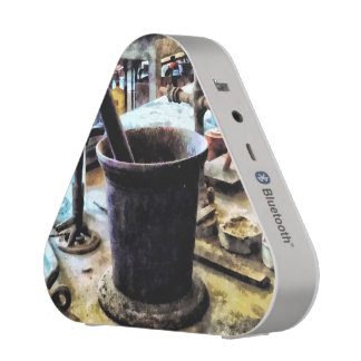 Mortar and Pestle in Chem Lab Speaker