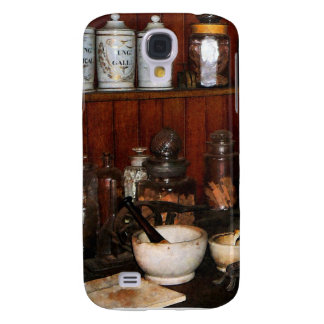 Mortar and Pestle in Drug Store Samsung S4 Case