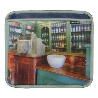 Mortar and Pestle in Pharmacy iPad Sleeves