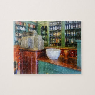 Mortar and Pestle in Pharmacy Jigsaw Puzzle
