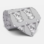 Mortar and Pestle mens tie