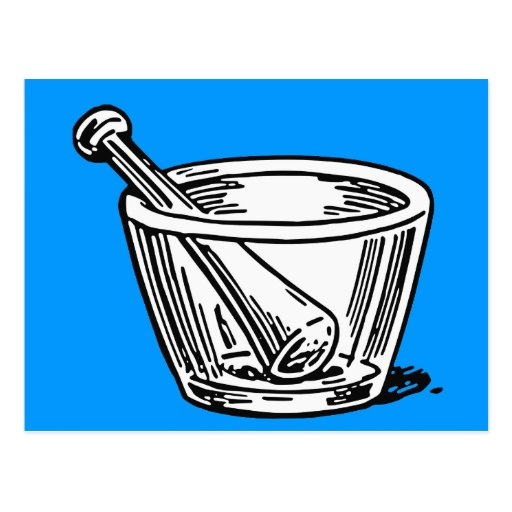 Mortar and Pestle Post Cards