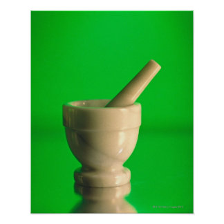 Mortar and pestle poster