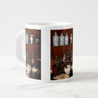 Mortar and Pestles in Drug Store Large Coffee Mug