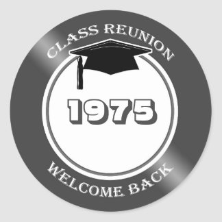 Mortar, class reunion any year Sticker