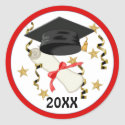 Mortar & Diploma 2011 sticker