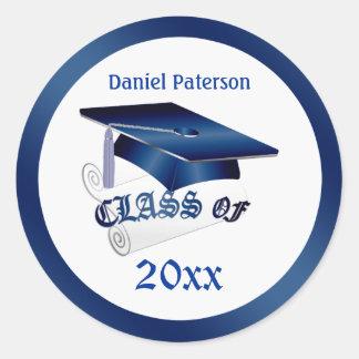Mortar, diploma Class of Graduation Seal