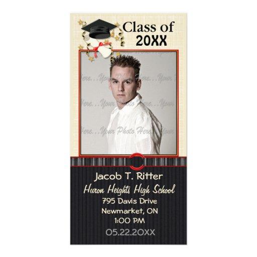 Mortar & Diploma - Customize Photo Card
