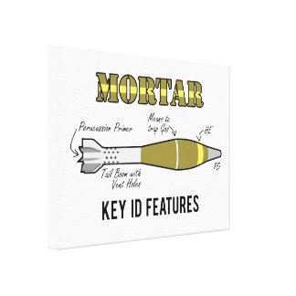 Mortar Key ID features Canvas Print