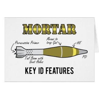 Mortar Key ID features Greeting Cards