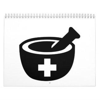 Mortar pestle calendar