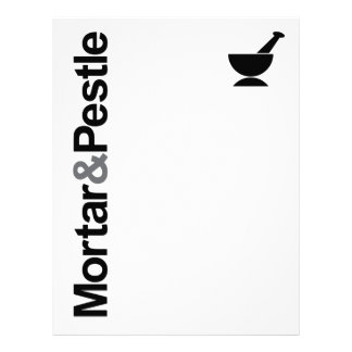 Mortar & Pestle Letterhead