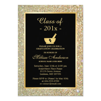 Mortar Pestle Pharmacy School Graduation Party Card