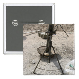 Mortar tubes pinback button