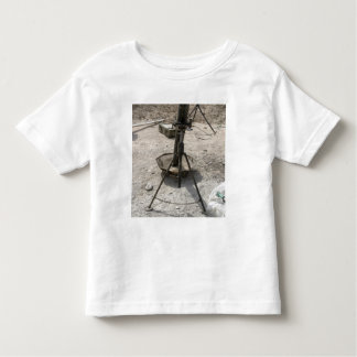 Mortar tubes toddler t-shirt