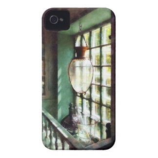 Mortero y maja de cristal en Windowsill Case-Mate iPhone 4 Cobertura