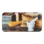 Mortero y maja y caja de cacao iPhone 5 cobertura