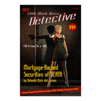 Mortgage-Backed Securities of DEATH Poster