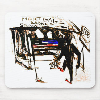 mortgage backed security mouse pad