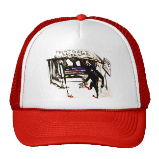 mortgage backed security trucker hat
