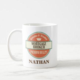 Mortgage Broker Personalized Office Mug Gift