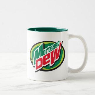 Mortgage Dew Two-Tone Coffee Mug
