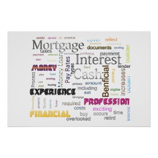 Mortgage Interest Posters