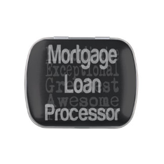 Mortgage Loan Processor Extraordinaire Jelly Belly Tin