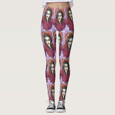 Art Themed Morticia Leggings