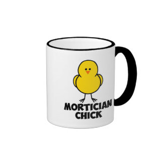Mortician Chick Ringer Mug