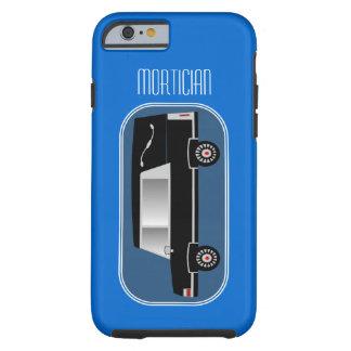 Mortician iPhone 6 case Hearse Design Blue