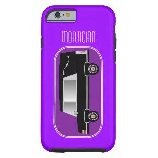 Mortician iPhone 6 case Hearse Design Purple