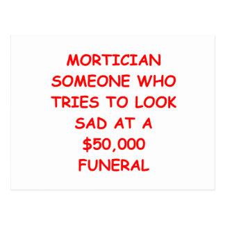 MORTician Postcard