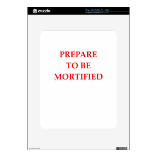 MORTIFIED DECAL FOR iPad