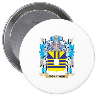 Mortimer Coat of Arms - Family Crest Button