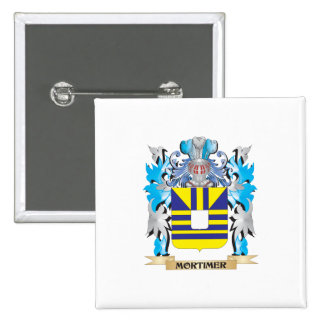 Mortimer Coat of Arms - Family Crest Buttons
